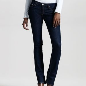 Rag & Bone Dark Wash Stiletto Bootcut Jeans 27